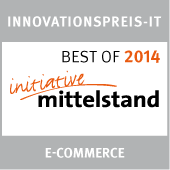 Innovationspreis IT Best of 2014 eCommerce